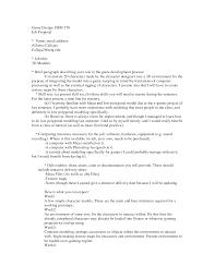 Sample Proposal Letter For A New Job Position Shishita World Com
