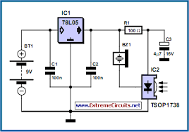 rc car circuit diagram the wiring diagram ir remote control tester circuit diagram and instructions circuit diagram