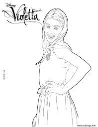 Coloriage Violetta Pose Mannequin Top Model Dessin