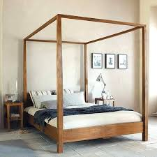 Stylist And Luxury Four Poster Bed With Canopy 4 Poster King Bed ...