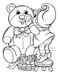 Toddler Christmas Coloring Pages For Kids Free Printable Childrens ...