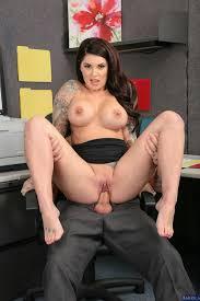 Darling Danika seducing her handsome co worker in the office.