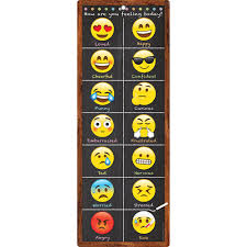 Chart Clip Smart Poly Clip Chart Emoji Feeling Dry Erase Surface