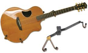 horizontal acoustic guitar holder flatwall
