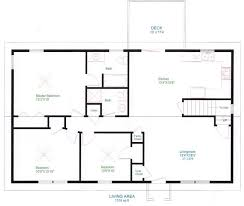 Simple House Blueprints With Measurements And Simple Floor Plans Simple Floor Plan