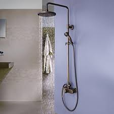 bathtub faucet with shower head. antique brass tub shower faucet with 8 inch head and hand bathtub h