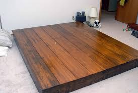 simple platform bed frame – lecrafteurcom