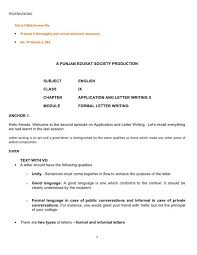 Letter Writing Format New Format Letter Principal Powerful See Ix Application And Writing Part
