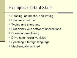 Hard Skills For Resume Custom Job Qualifications List Homey Inspiration Example Of Hard Skills