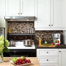 Sticky Tiles For Kitchen Floor Backsplashes Countertops Backsplashes Kitchen The Home Depot