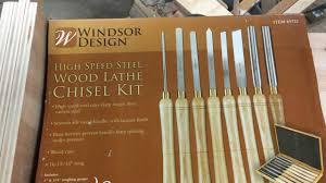 Windsor Design Chisels Harbor Freight 8 Piece Lathe Tool Set 69723