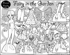 Small Picture Paper Doll Coloring Pages Desenhos Pinterest Clothing