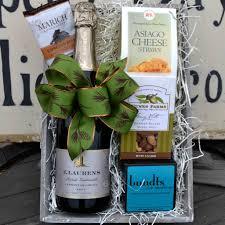j laurens french sparkling wine gift basket
