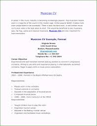 Music Resume For College Applications 52 Inspiring Ideas