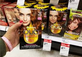 Powered by a 60% oil blend formula with natural flower oils, olia propels colorants deep into the hair, giving you vivid color results and 100% gray. 1 48 Reg 8 Garnier Olia Hair Color At Target No Coupon Needed