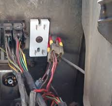 "gm hei conversion a how to dodgetalk dodge car forums you need to make up two wires about 5"" long ¼"" male spade connectors on them unplug the connectors on the ballast resistor and plug in your new wires"