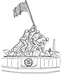 Small Picture Patriotic Coloring Pages 004