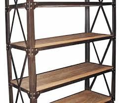 amazoncom furniture 62quot industrial wood. Industrial Bookcase On Wheels Imposing Amazon Com Homissue 5 Shelf Bookshelf And Home Interior 20 Amazoncom Furniture 62quot Wood