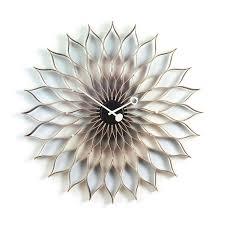 george nelson sunflower clock vitra sample sale  stardust
