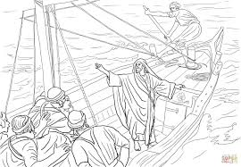 Jesus Calls Matthew Coloring Page With The Tax Collector Coloring ...