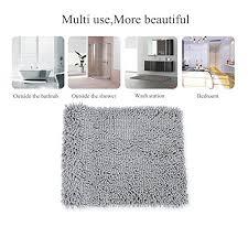super soft bath mat microfiber bathroom rugs non slip absorbent fast drying bathroom carpet shower