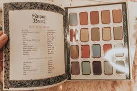 sleeping beauty makeup palette