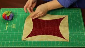 Sew Easy: How to Piece a Quilt -- Orange Peel Piecing - YouTube &  Adamdwight.com