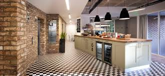 office reception images. Cafe Style Office Reception With Coffee Machine / Morgan Lovell Design Images