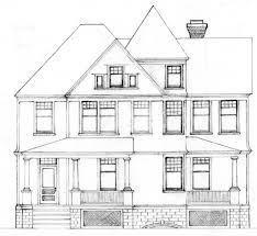 architecture house drawing.  Drawing Architectural Drawings Of House Intended Architecture House Drawing
