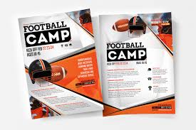 A4 American Football Poster / Advertisement Template In Psd, Ai ...