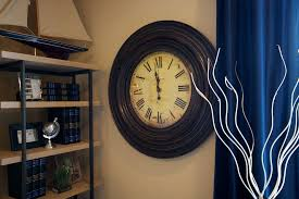 office clocks. Marvelous Oversized Wall Clocks In Home Office Other Metro With Classic Clock Next To Sailboat Model