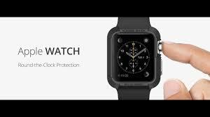 Обзор <b>аксессуаров</b> для <b>Apple</b> Watch - <b>чехлы</b> Spigen и ремешки ...