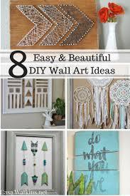 Casa Watkins: 8 Easy and Beautiful DIY Wall Art Ideas