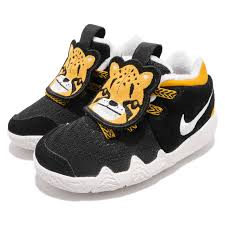Details About Nike Kyrie 4 Lb Little Beast Big Cats Black Yellow Toddler Shoes At5708 001