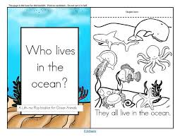 Looking for fun activities for your kids this summer? Oceans Animals Theme Activities And Printables For Preschool And Kindergarten Kidsparkz