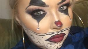 chola clown makeup tutorial and giveaway final days