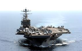 Image result for US aircraft carrier in Gulf, PHOTO