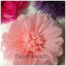 Pink Paper Flower Decorations Details About Paperbloomz Large Paper Flower Pink Tissue Paper Flowers Wall Decorations