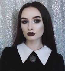 easy makeup wednesday addams family cosmopolitanuk