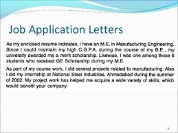 job application letters  amp  resumejob application letters