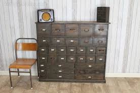 vintage furniture ideas. Brilliant Ideas Antique Industrial Furniture Vintage Bank Of Drawers Awesome Classic  Knobs Ochre Single Chair Striped Board Wall To Ideas