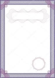 Рамка для сертификата и диплома Векторное изображение © st  Гильошированный рамка для свидетельства и дипломы Вектор от st481