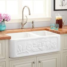 33 vine design polished marble farmhouse sink cream egyptian