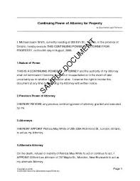 Printable Sample Power Of Attorney Sample Form Real Estate Forms