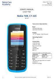 NOKIA 109 SERVICE MANUAL Pdf Download ...