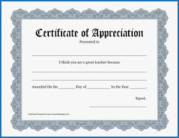 035 Free Printable Certificate Templates Template Ideas