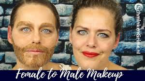 female to male makeup tutorial