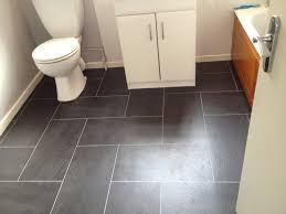 Bathroom Dark Gray Vinyl Tiles For Tile Bathroom Floor Ideas