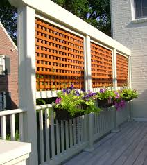 A Little Privacy Makes For Good Neighbors Petro Design Deck - Exterior decking materials