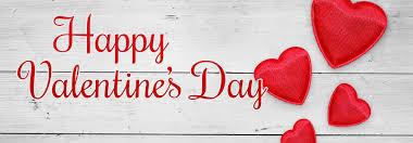 happy valentine s day banner